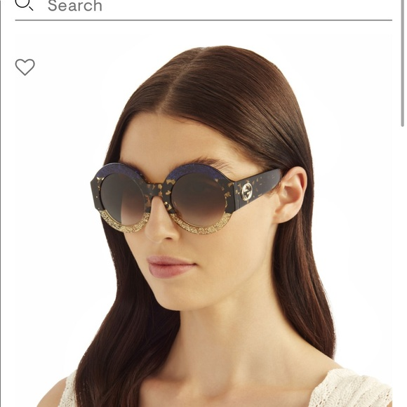 Authentic GUCCI Round Sunglasses